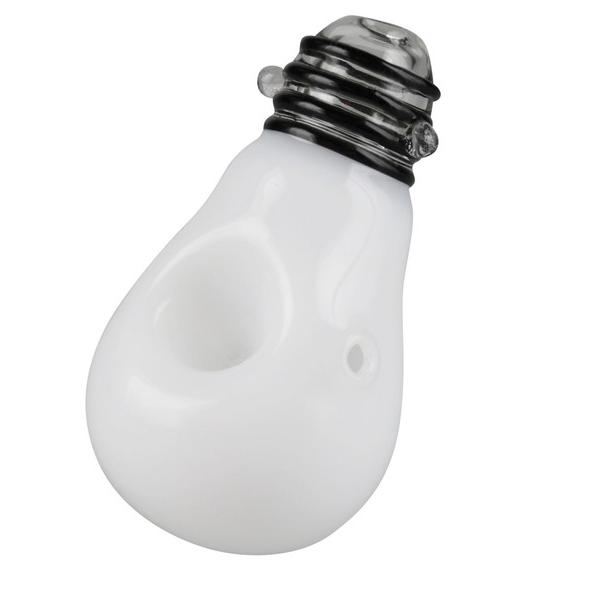 """Eureka"" Lightbulb Spoon Pipe"