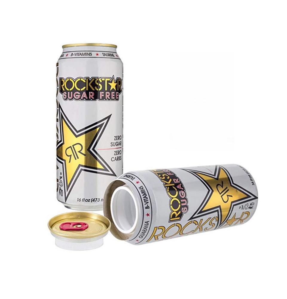 Rockstar Energy Drink Stash Can Diversion Safe