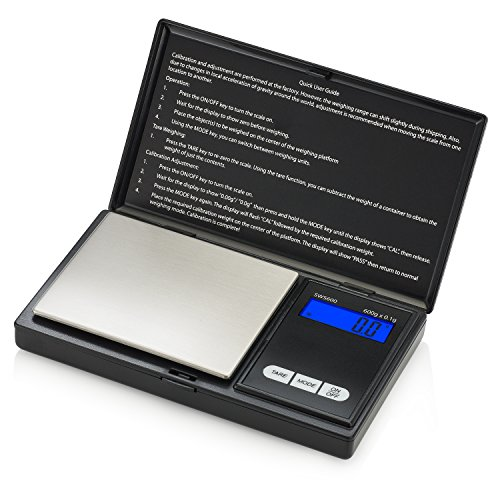 Smart Weigh SWS600 Elite Pocket Sized Digital Scale