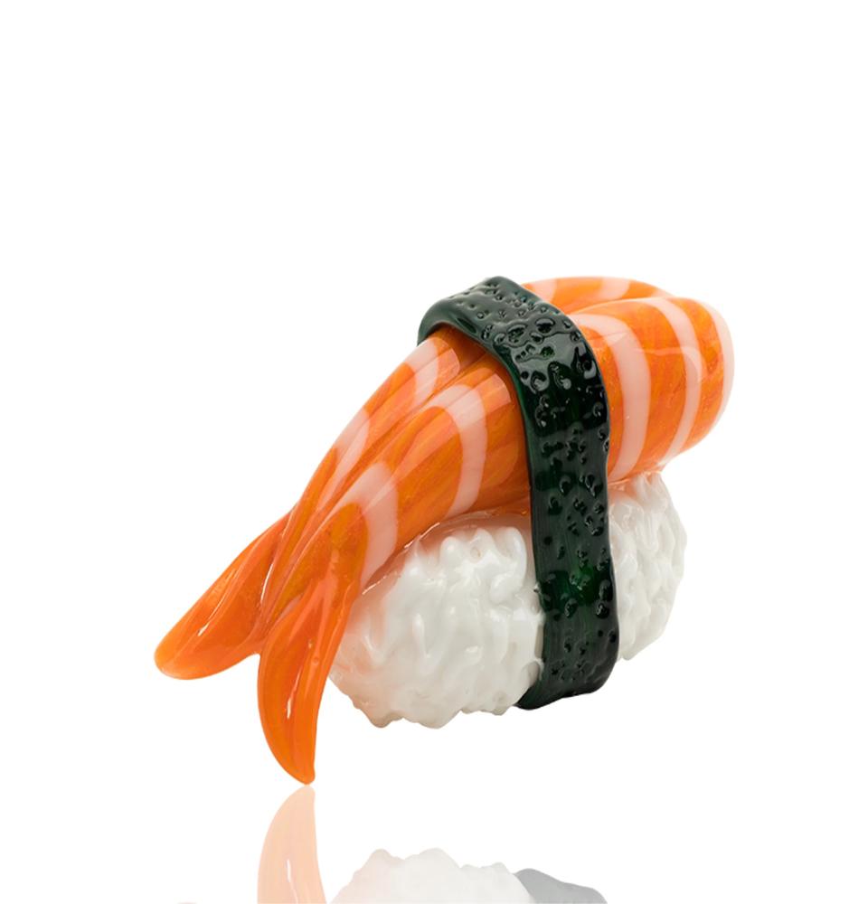 Shrimp Nigiri Sushi Hand Pipe