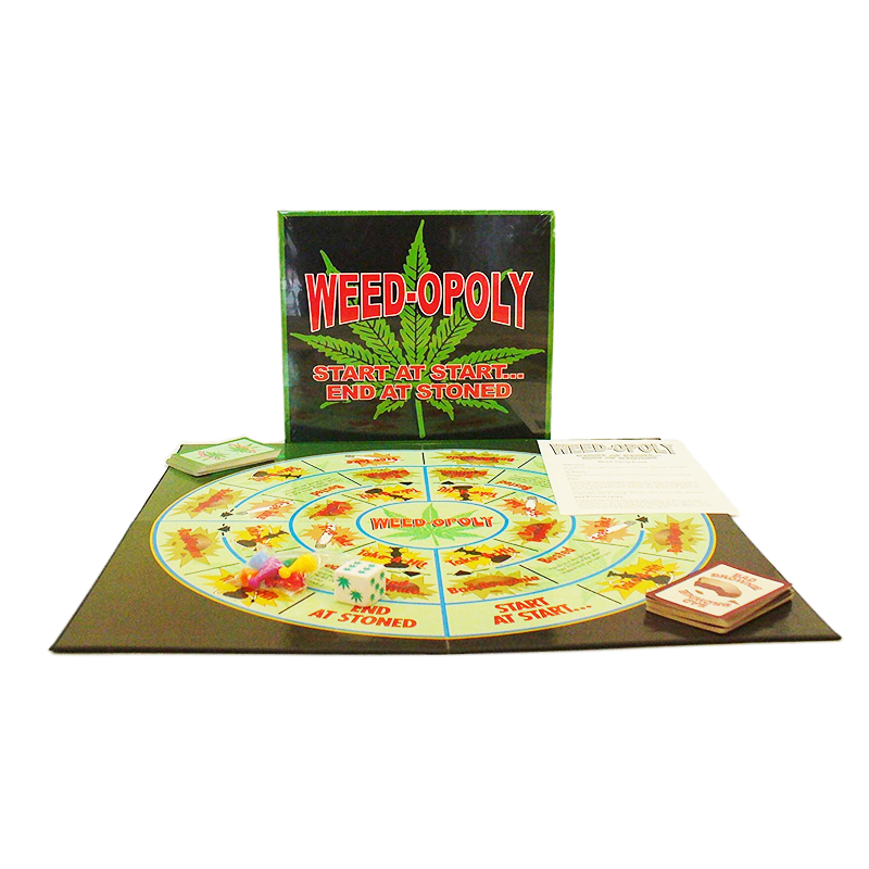 Weed-Opoly the game