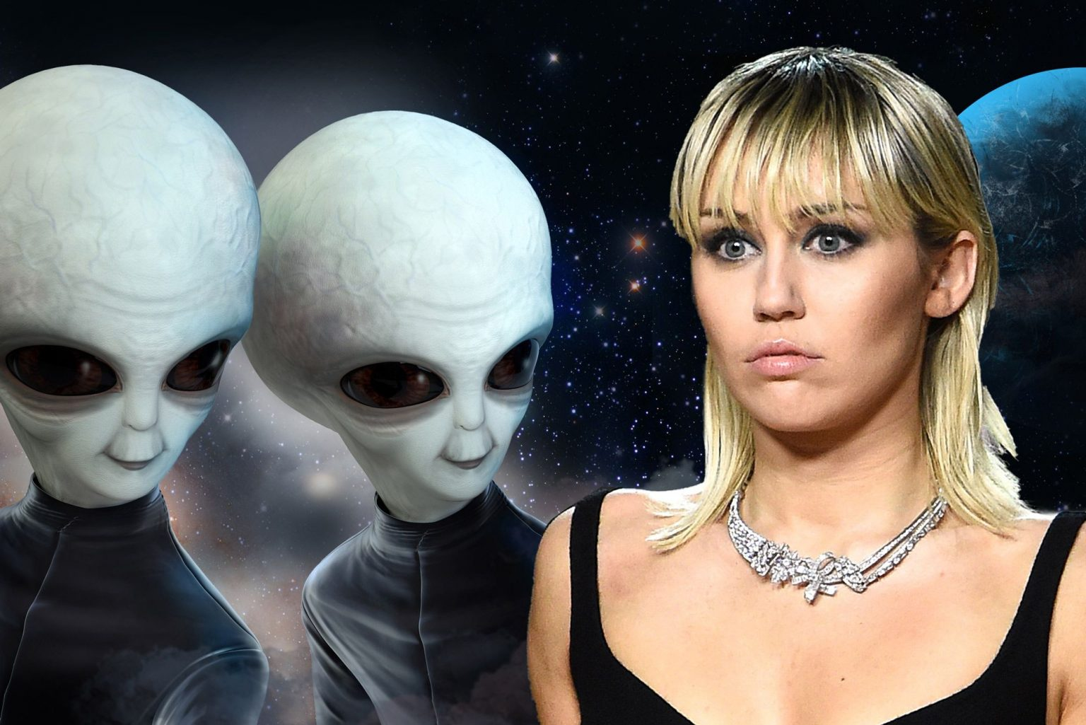 Miley Cyrus: I Was Chased By UFO, Made Eye Contact With